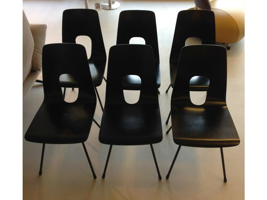 Tisch und 6 Stühle / horgenglarus 07