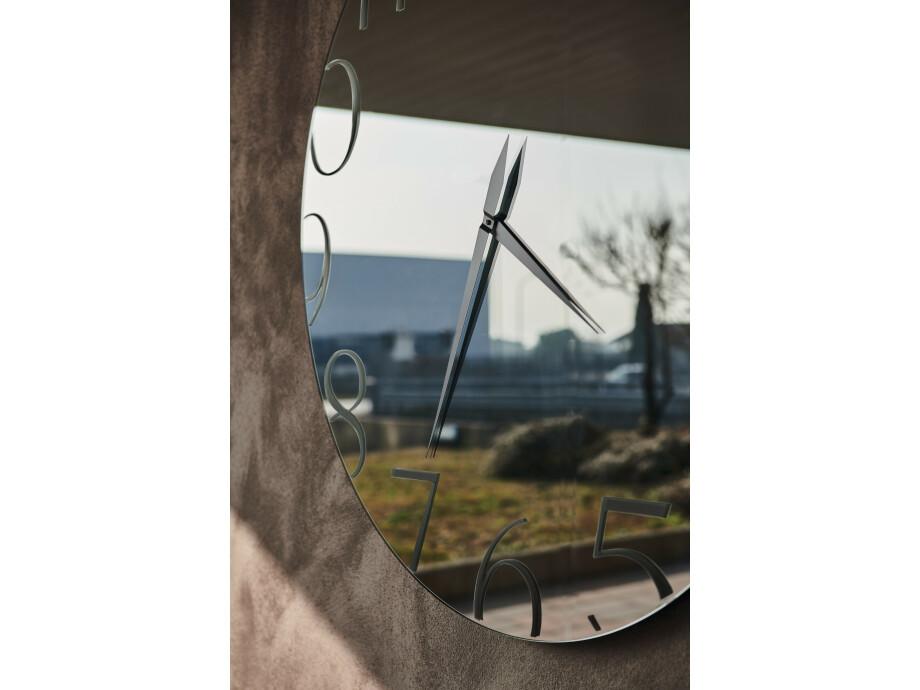 Spiegel Cattelan Moment -  Rund Fumé-Glas 02