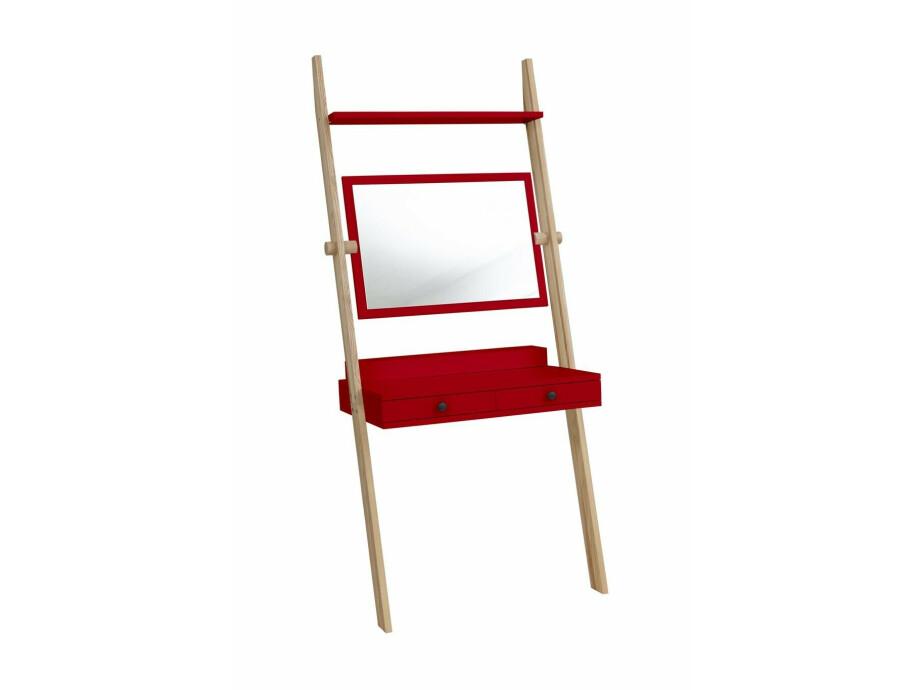 Solovivo Exclusiv! Leno Leiterregal Schreibtisch mit Schiefertafel 10