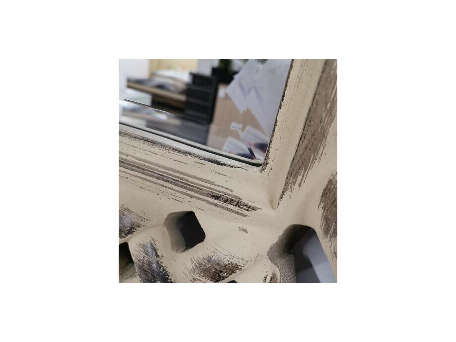 FACETTENSPIEGEL beige dust rechteckig 04