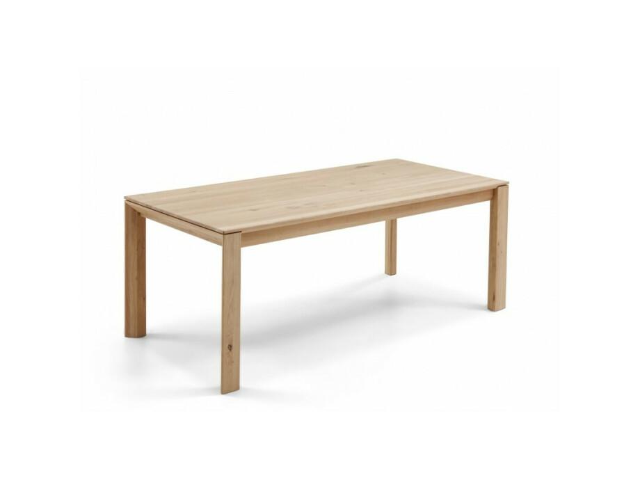 DION - Massivholztisch mit Gestellauszug 02