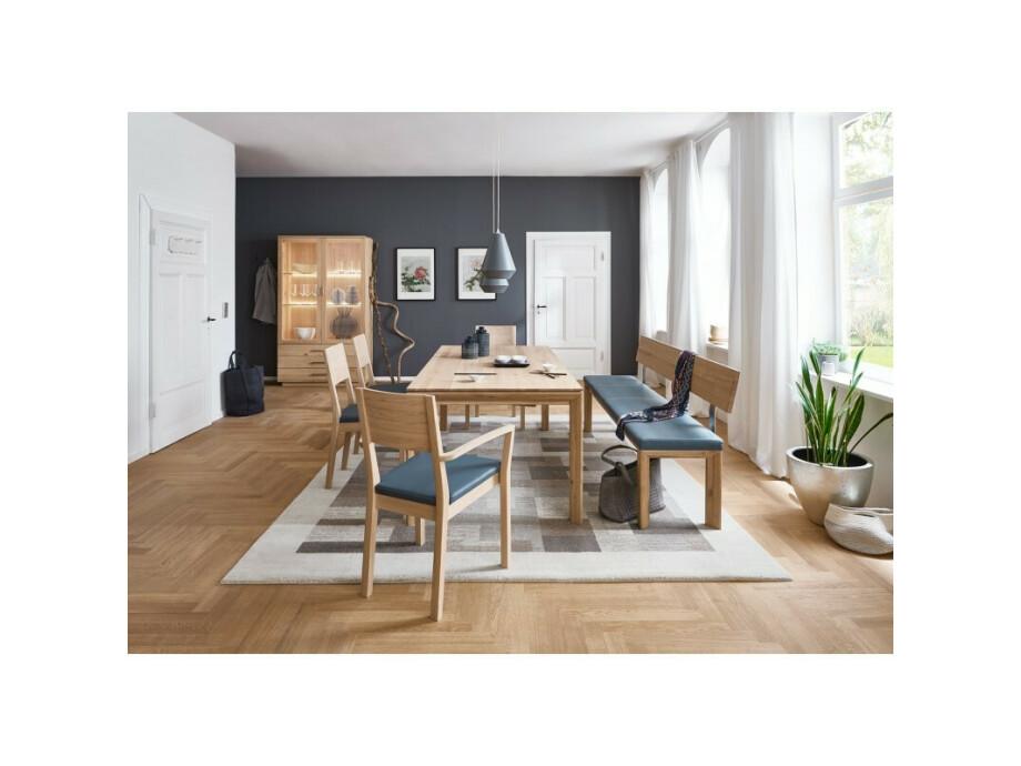 DION - Massivholztisch mit Gestellauszug 03