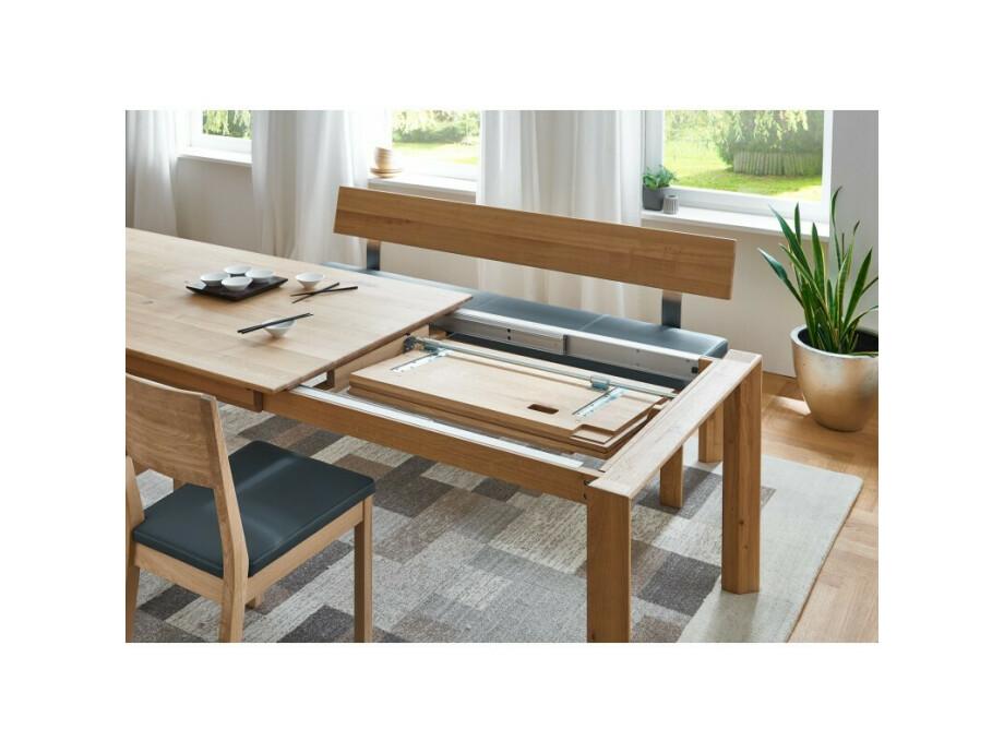 DION - Massivholztisch mit Gestellauszug 04