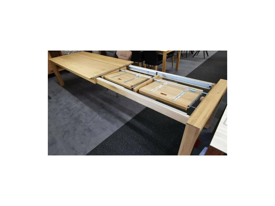 Esstisch LYSS mit Verlängerung Asteiche 220 x 100 cm 03