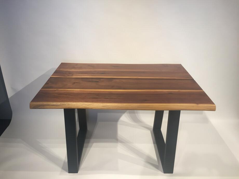 Massivholztisch Küche / Schreibtisch 120 x 80 cm Lüönd 01