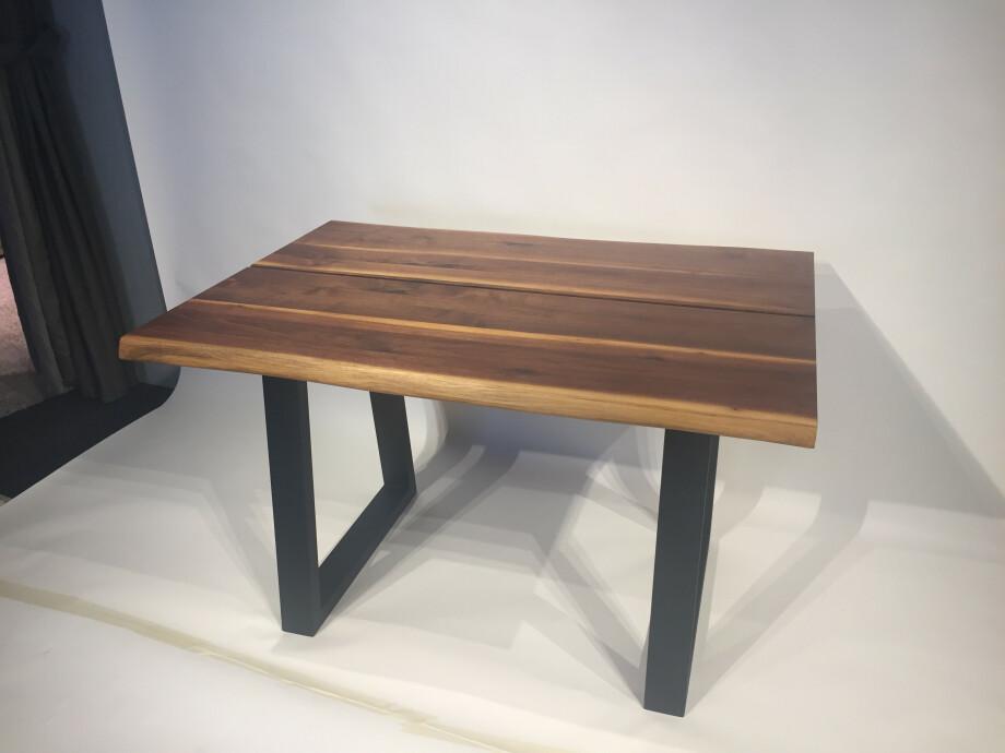 Massivholztisch Küche / Schreibtisch 120 x 80 cm Lüönd 04