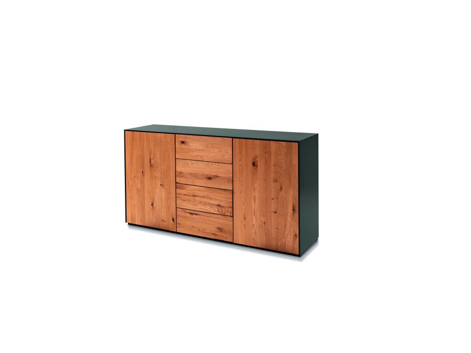 Ohio 03 Sideboard mit 2 Türen und 4 Schubladen 02