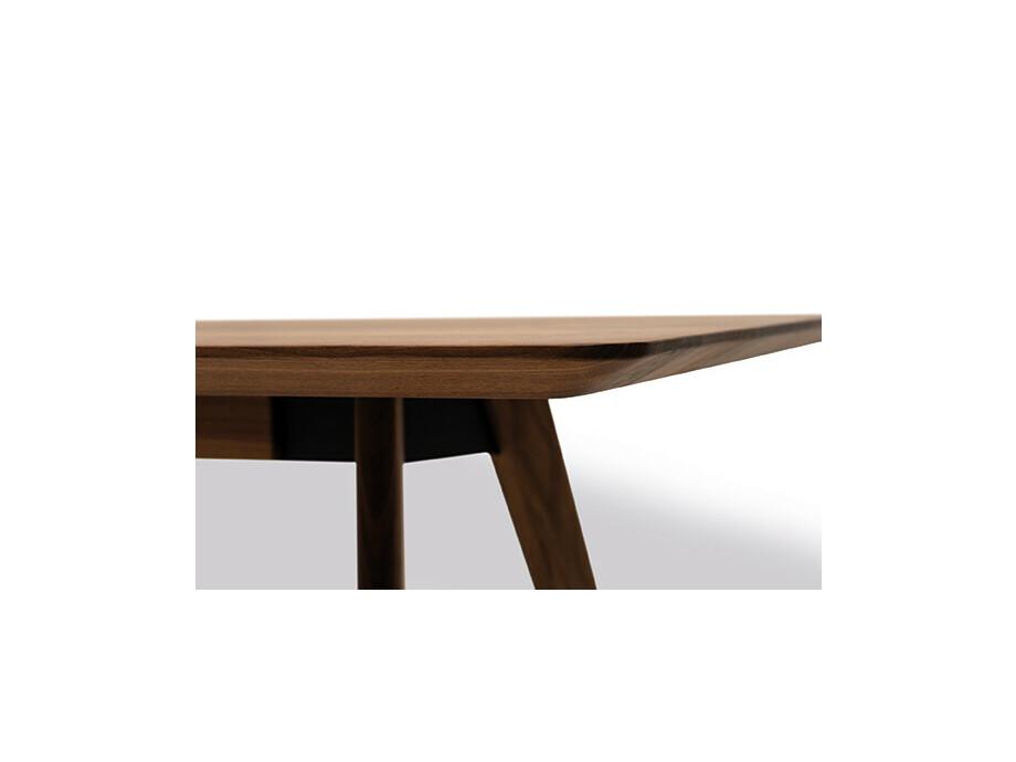 Massivholztisch Style Amerik. Nussbaum 220 x 108 cm Lüönd 03