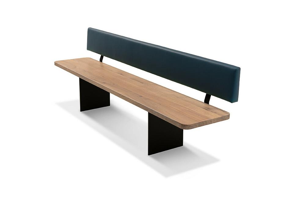 Massivholztisch Style Ast-Eiche Bianco 240 x 95 cm Lüönd 04