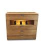 Kommode CasaBella mit 4 Schubladen und Effektbeleuchtung
